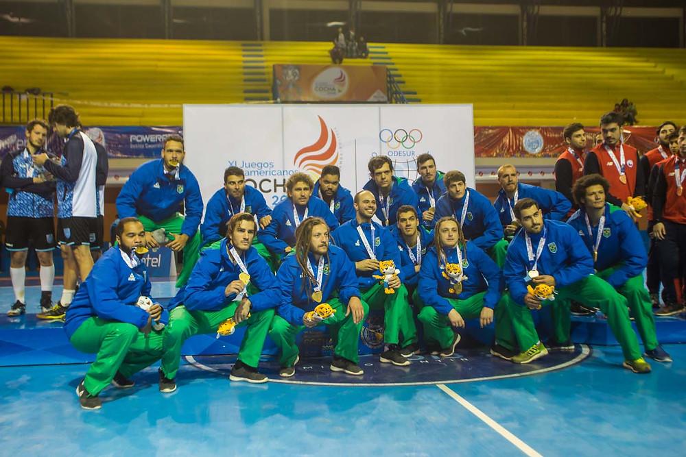Seleção Brasileira de Handebol. (foto divulgação evento)