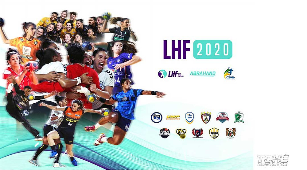 Liga de Handebol Feminina 2020 (arte ABRAHAND_