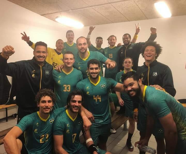 Rogério Moraes com a Seleção Brasileira no Pan da Groenlândia 2018 (foto arquivo pessoal)