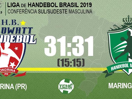 Londrina (PR) x Maringá (PR)