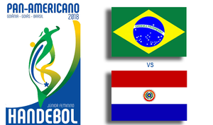 Pan-Americano de Handebol Júnior Feminino 2018. (arte Tchê Esportes)