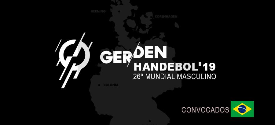 Convocação para Fase de Treinamento e Mundial Masculino de Handebol