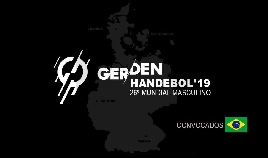 Convocados Mundial Alemanha/Dinamarca 2019 (arte Tchê Esportes)