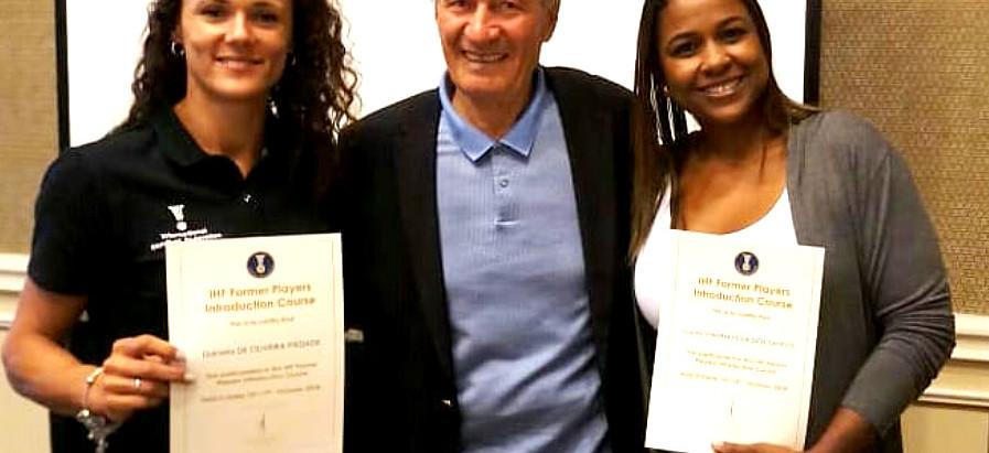 Dani Piedade e Lucila dos Santos participam de Curso de Formação da IHF