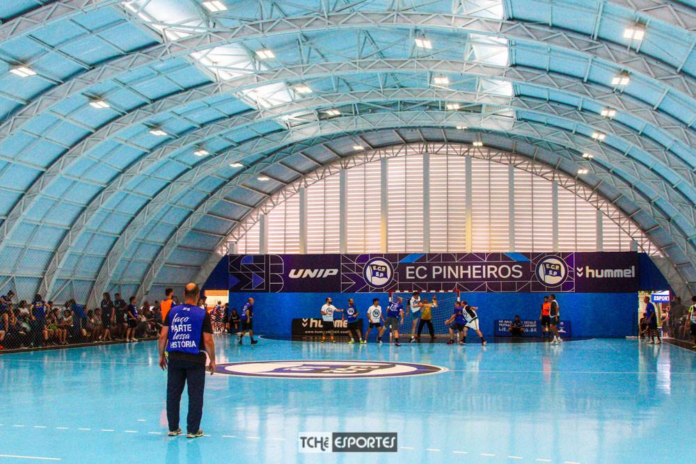 Ginásio de Handebol do EC Pinheiros (foto André Pereira / Tchê Esportes)