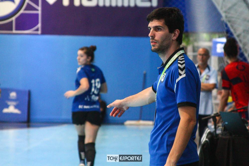 Alex Aprile, técnico do EC Pinheiros-SP. (foto André Pereira / Tchê Esportes)