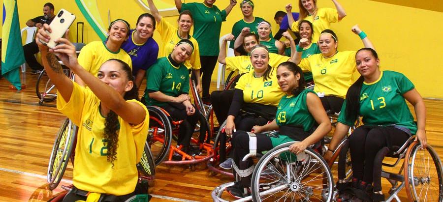 Brasil vence o Pan Feminino de Handebol em Cadeira de Rodas