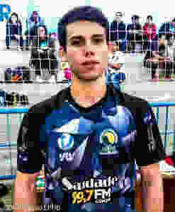 Luiz Fellipe (Diadema), artilheiro do jogo. (foto Divulgação LPHB)