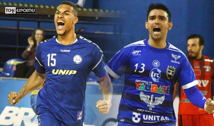 Pinheiros(SP) e Taubaté vencem o primeiro jogo das semifinais. (foto André Pereira /Tchê Esportes)
