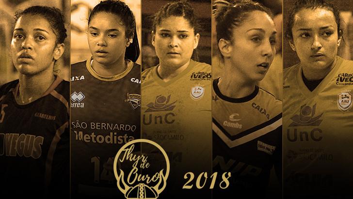 Chegou a sua vez de votar no Thyr de Ouro Feminino 2018