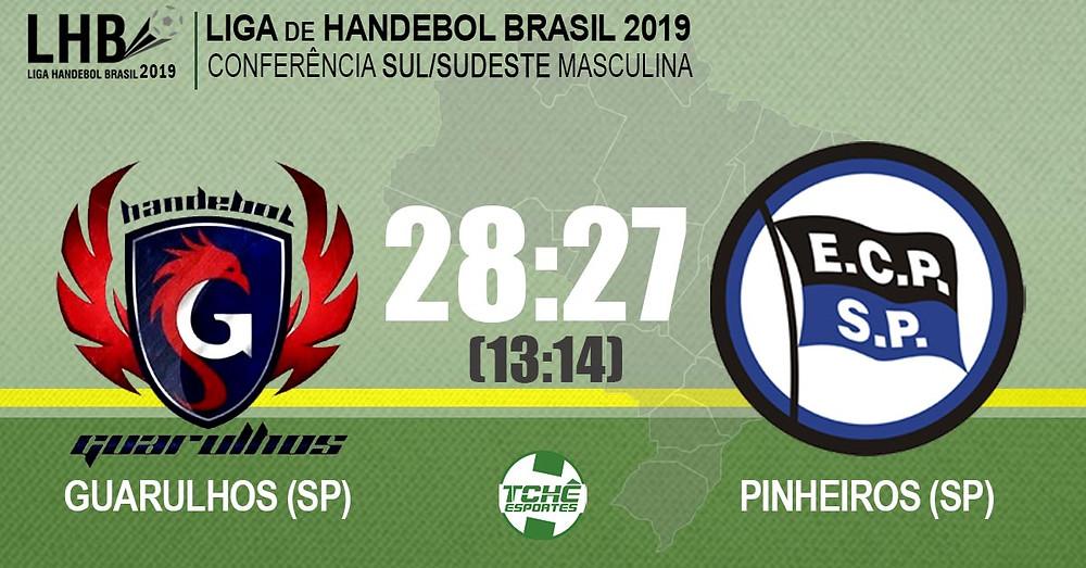 Guarulhos x Pinheiros | Liga Handebol Brasil 2019 (LHB)