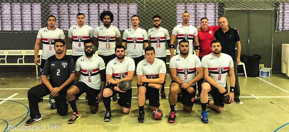 São Paulo FC - Livre Masculino. (foto divulgação LPHB)