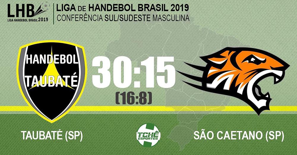 Taubaté x São Caetano | Liga Handebol Brasil 2019 (LHB)