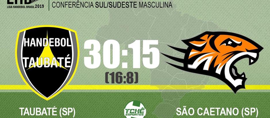 Taubaté vence São Caetano pela Conferência Sul/Sudeste Masculina da Liga Handebol Brasil 2019