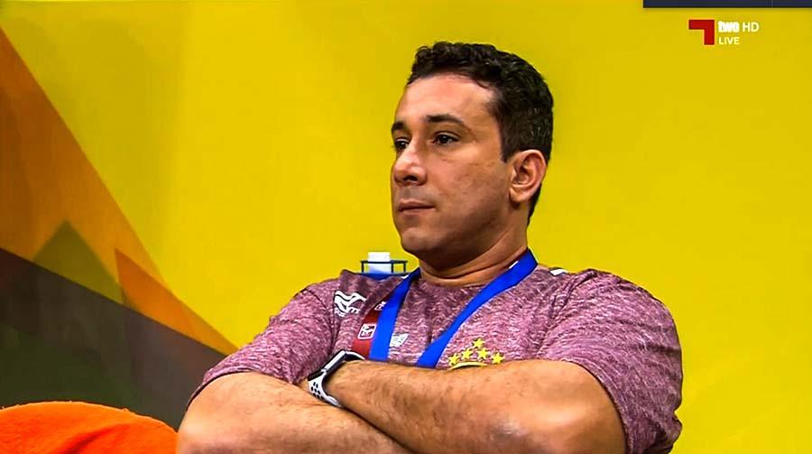 Marcus Tatá, técnico da Seleção Brasileira Masculina de Handebol. (foto reprodução)