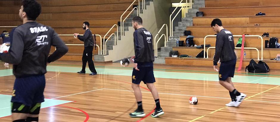 Brasil começa em Portugal preparação para o Mundial do Egito