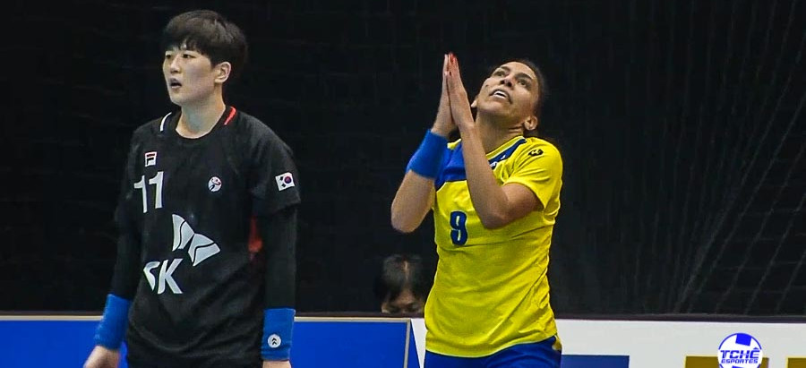 Brasil perde para a Coreia no Mundial de Handebol