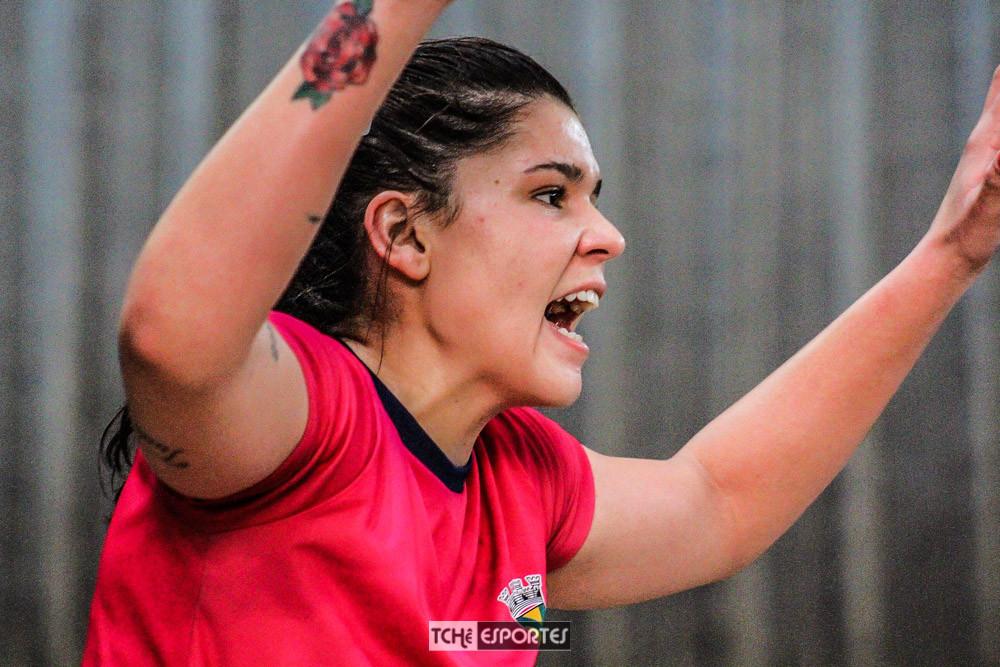 Naira Almeida. (Acervo Tchê Esportes / Andre Pereira)