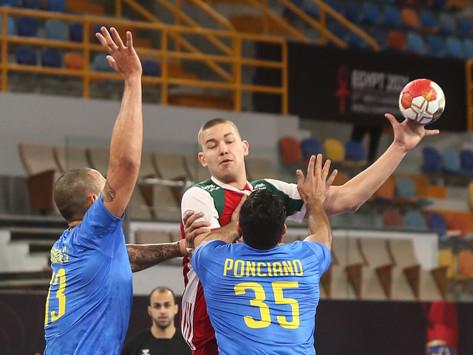 Brasil perde para a Hungria na estreia do Main Round