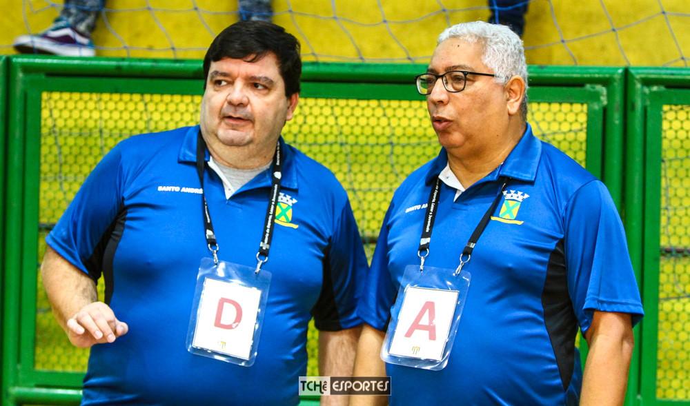 Archibald  e Piazza. (Acervo Tchê Esportes / André Pereira )