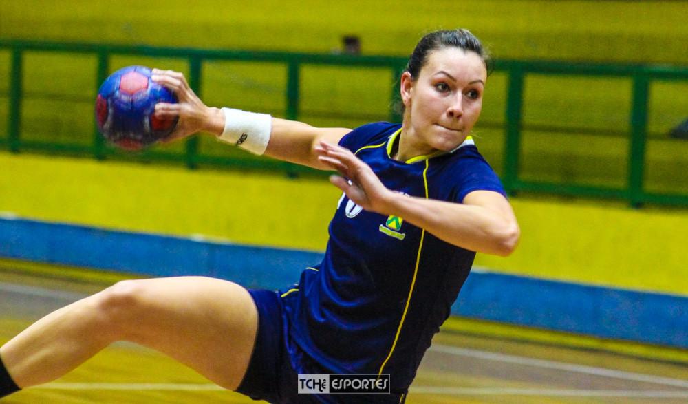 Fernanda Barbosa. (Acervo Tchê Esportes / André Pereira)