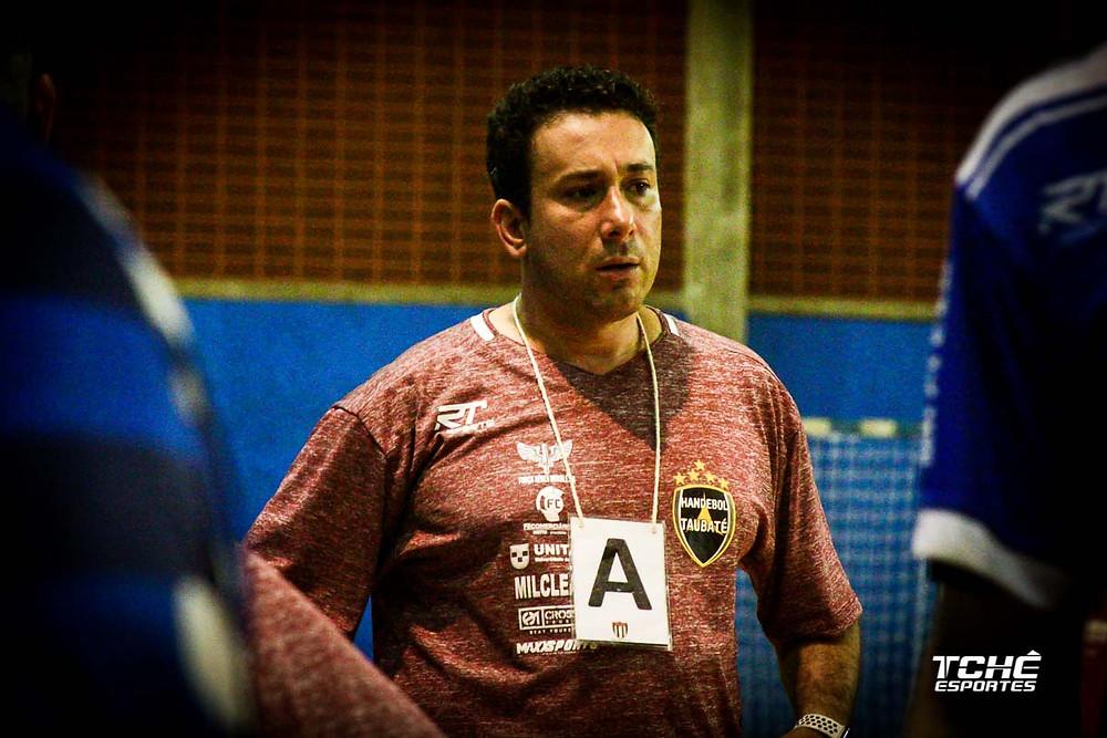 Marcus Tatá, técnico da Seleção Brasileira masculina de handebol. (arquivo Tchê Esportes)