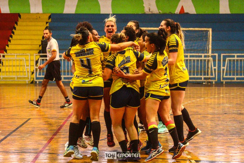 Ribeirão Pires é campeão da LPHB 2018, categoria Livre Feminino. (foto André Pereira / Tchê Esportes)