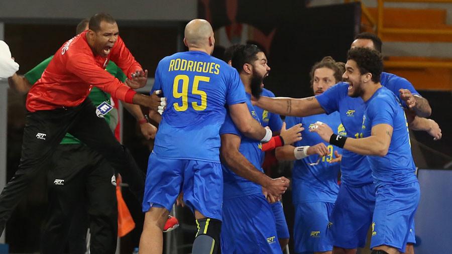 Brasil vs Tunísia  - foto: reprodução/Twitter
