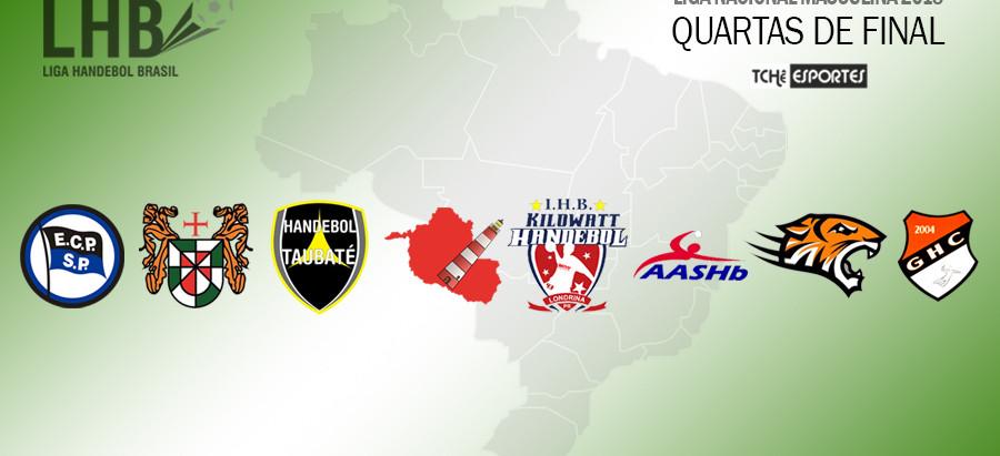 Começam as quartas de final da Liga Nacional Masculina de Handebol