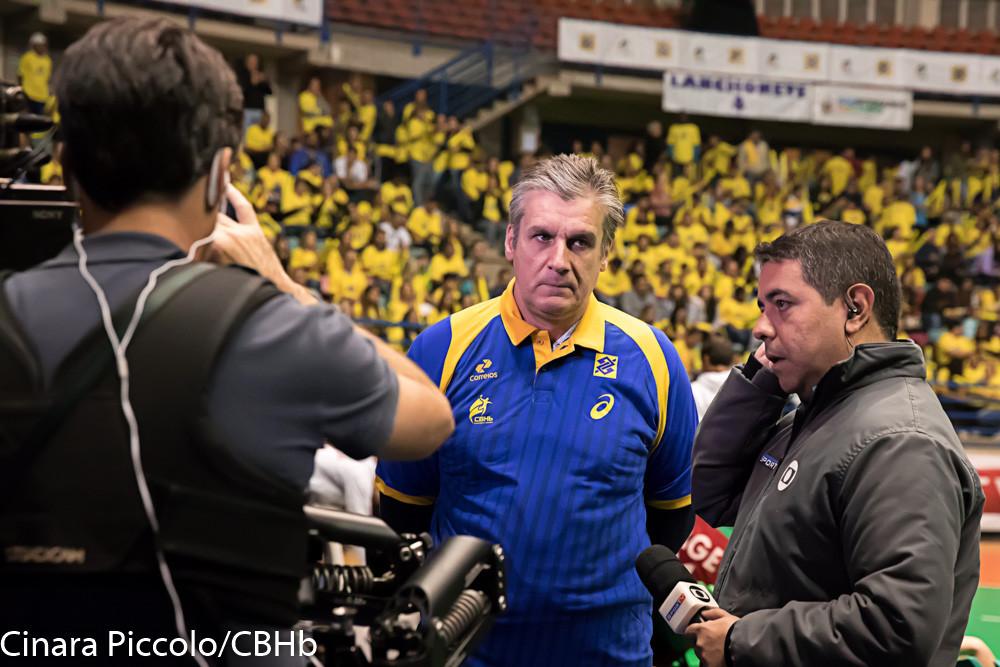 Jorge Dueñas, técnico da Seleção Brasileira Feminina de Handebol (Cinara Piccolo/CBHb)