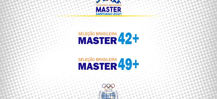 Seleções Masculina Master são convocadas para Sul-americano 2021