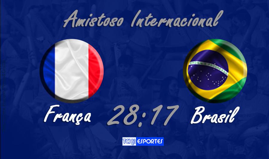 Amistoso Internacional | França vs Brasil (arte Tchê Esportes)