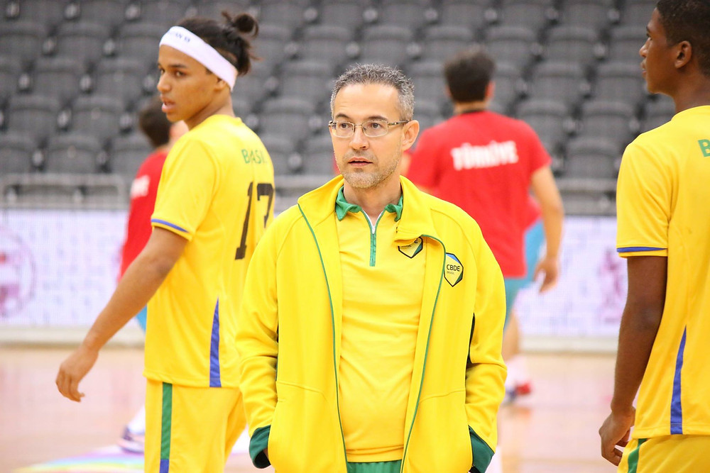 Giuliano Ramos, técnico do CAIC. (foto Divulgação CBDE)