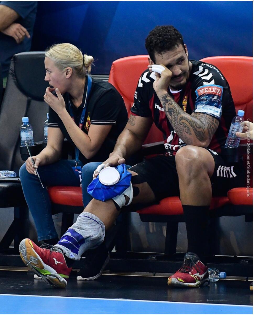 Rogério jogou três meses com problemas no menisco. (foto Slobodan Gjunic)