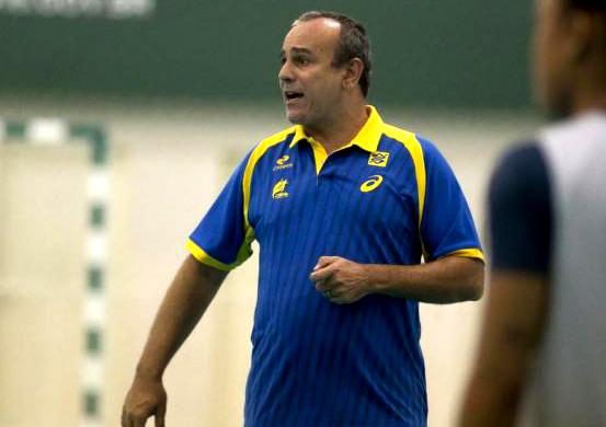 Sérgio Graciano, auxiliar técnico da Seleção Brasileira de Handebol Feminino. (foto: Cinara Piccolo / Photo&Grafia)
