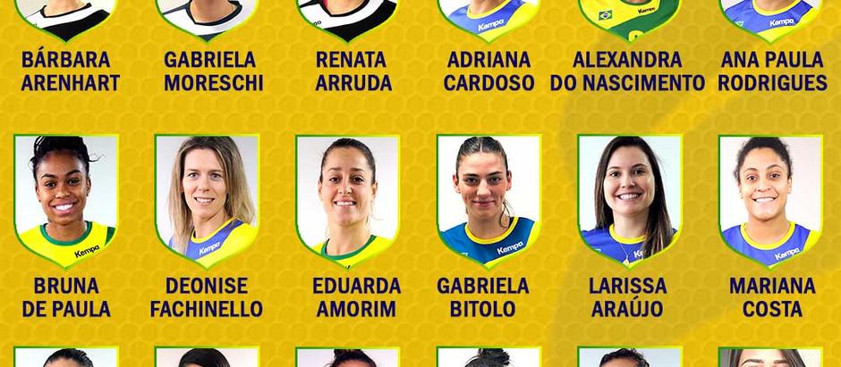 Seleção Feminina de Handebol se reúne de olho na Olimpíada