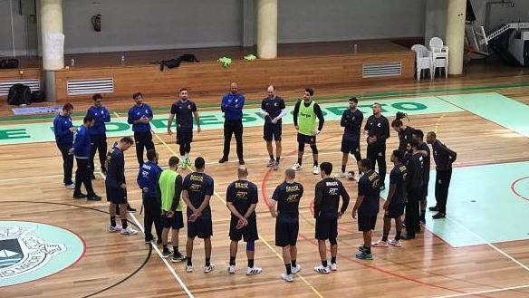 Seleção Brasileira Masculina de Handebol (foto Divulgação CBHb)