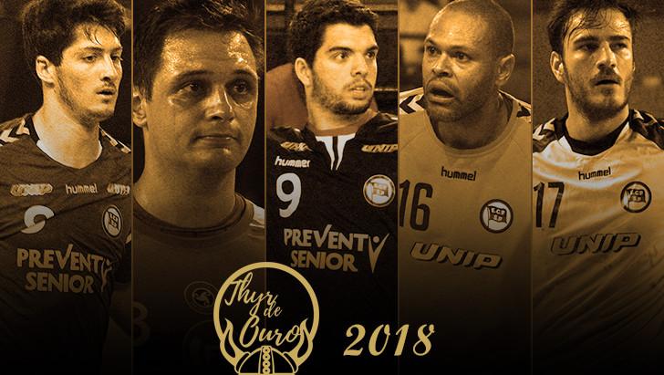 Thyr de Ouro 2018 - Indicados Masculino