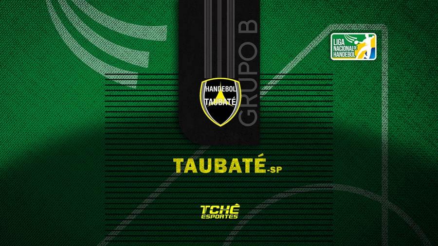Handebol Taubaté-SP (arte Tchê Esportes)