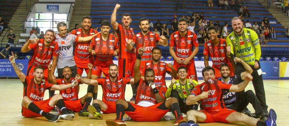 Bronze na Liga Masculina de Handebol vale mais que pódio para Londrina