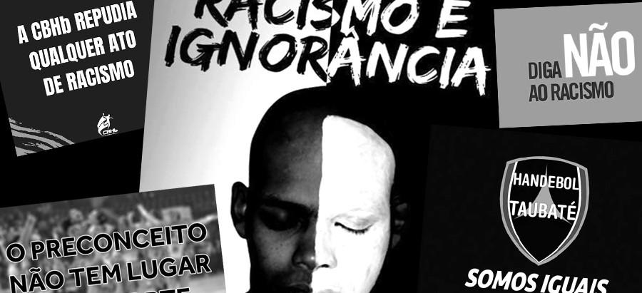O Handebol discute o racismo que vem de fora da quadra