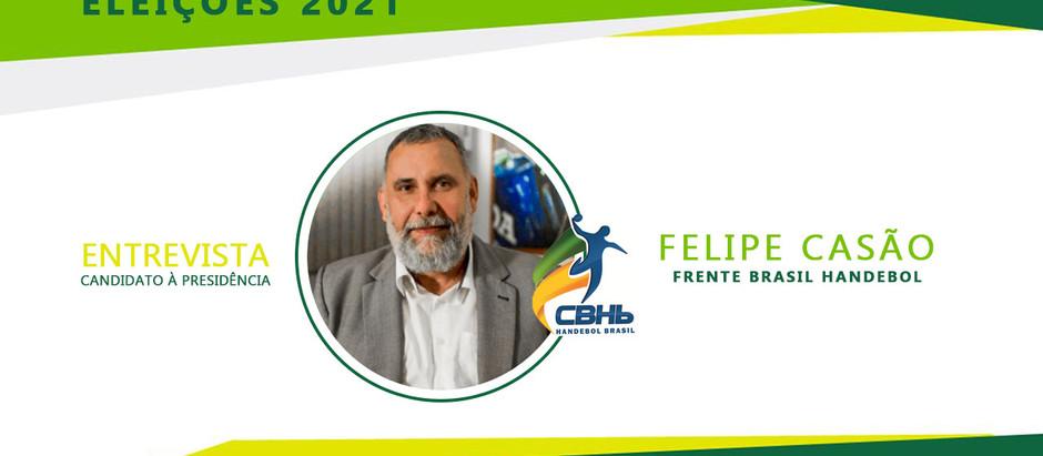 Situação financeira da Confederação é prioridade para Felipe Casão