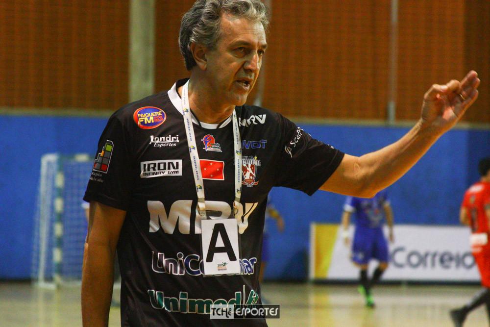Gian Ramirez, técnico do Londrina-SP (foto Andre Pereira / Tchê Esportes)