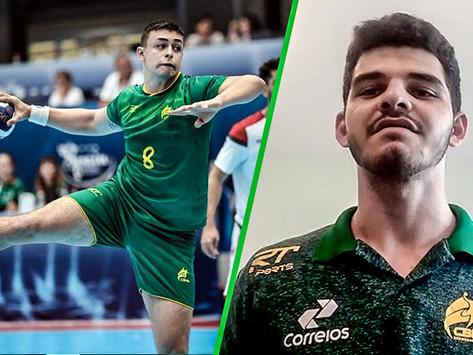 Guilherme Borges e José Luciano são chamados para o Mundial do Egito 2021