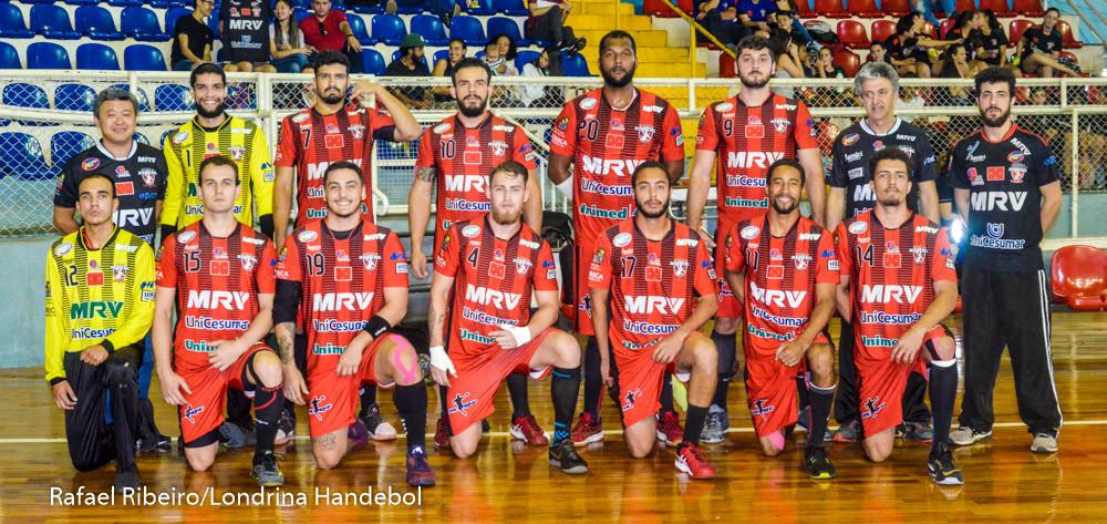 Londrina - Liga Nacional Masculina de Handebol 2018 (foto Rafael Ribeiro / Londrina Handebol)
