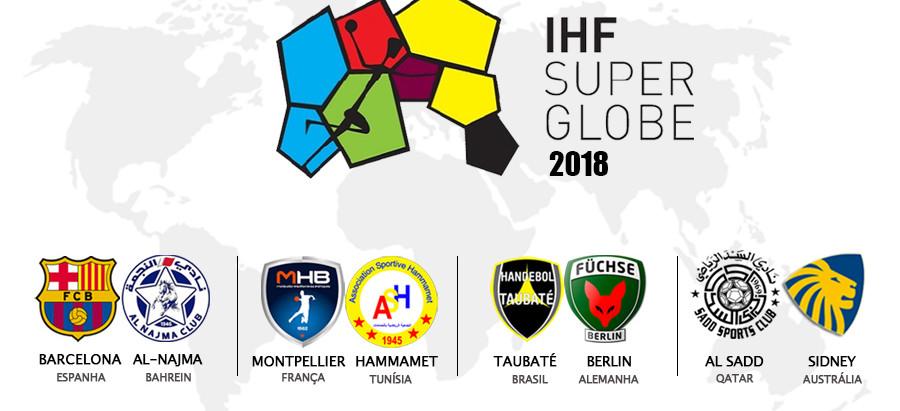 Taubaté começa a disputa de seu quinto IHF Super Globe