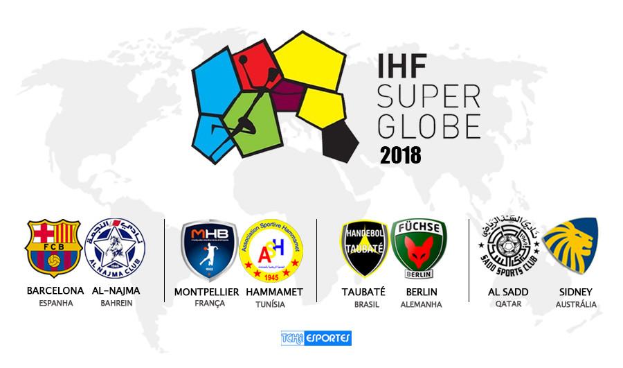 Super Globe 2018 - Quartas de Final (arte Tchê Esportes)