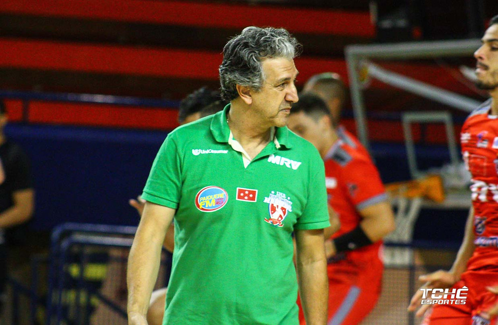 Gian Ramirez, técnico do Londrina-PR. (foto arquivo Tchê Esportes)