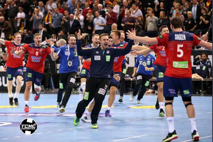 Noruega está na final do Mundial 2019 (foto divulgação IHF)