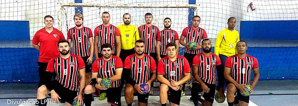 São Paulo FC, livre masculino. (foto divulgação LPHb)